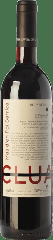 12,95 € Free Shipping | Red wine Xavier Clua Mas d'en Pol Barrica Joven D.O. Terra Alta Catalonia Spain Merlot, Syrah, Grenache, Cabernet Sauvignon Bottle 75 cl