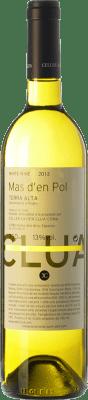 7,95 € Free Shipping | White wine Xavier Clua Mas d'en Pol Blanc D.O. Terra Alta Catalonia Spain Grenache White, Chardonnay, Sauvignon White, Muscatel Small Grain Bottle 75 cl