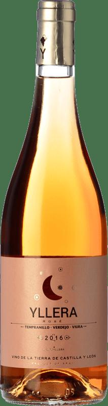 4,95 € Envío gratis | Vino rosado Yllera Rosé I.G.P. Vino de la Tierra de Castilla y León Castilla y León España Tempranillo, Verdejo Botella 75 cl