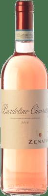 6,95 € Envío gratis | Vino rosado Zenato Chiaretto D.O.C. Bardolino Veneto Italia Merlot, Corvina, Rondinella Botella 75 cl