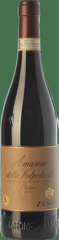 45,95 € Free Shipping | Red wine Zenato Classico D.O.C.G. Amarone della Valpolicella Veneto Italy Corvina, Rondinella, Oseleta Bottle 75 cl