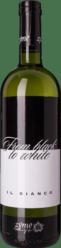 15,95 € Free Shipping | White wine Zýmē From Black to White I.G.T. Veneto Veneto Italy Gewürztraminer, Incroccio Manzoni, Kerner, Rondinella White Bottle 75 cl