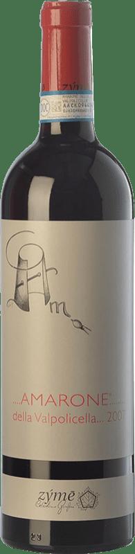 89,95 € Free Shipping | Red wine Zýmē 2009 D.O.C.G. Amarone della Valpolicella Veneto Italy Corvina, Rondinella, Corvinone, Oseleta, Croatina Bottle 75 cl