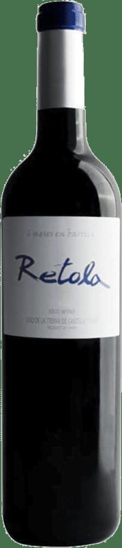6,95 € Free Shipping | Red wine Thesaurus Retola Roble 12 Meses Crianza I.G.P. Vino de la Tierra de Castilla y León Castilla y León Spain Tempranillo Bottle 75 cl