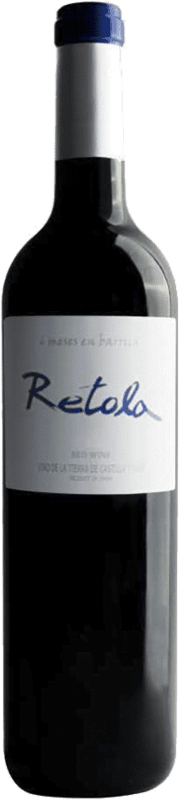 6,95 € Free Shipping | Red wine Thesaurus Retola Roble 12 Meses Crianza I.G.P. Vino de la Tierra de Castilla y León Castilla y León Spain Tempranillo Bottle 75 cl | Thousands of wine lovers trust us to get the best price guarantee, free shipping always and hassle-free shopping and returns.