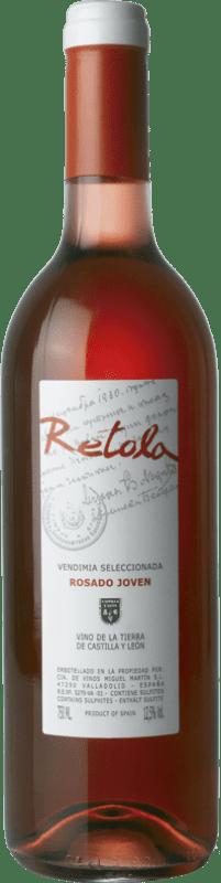 5,95 € Free Shipping | Rosé wine Thesaurus Retola Vendimia Seleccionada Joven I.G.P. Vino de la Tierra de Castilla y León Castilla y León Spain Tempranillo, Grenache Bottle 75 cl
