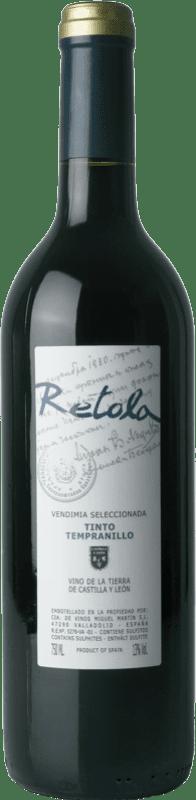 5,95 € Бесплатная доставка   Красное вино Thesaurus Retola Vendimia Seleccionada Joven I.G.P. Vino de la Tierra de Castilla y León Кастилия-Леон Испания Tempranillo бутылка 75 cl
