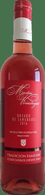 5,95 € Kostenloser Versand | Rosé-Wein Thesaurus Martín Verástegui Joven I.G.P. Vino de la Tierra de Castilla y León Kastilien und León Spanien Tempranillo Flasche 75 cl