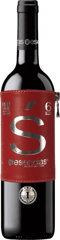 11,95 € Free Shipping | Red wine Esencias «s» Premiun Edition 6 Meses Crianza I.G.P. Vino de la Tierra de Castilla y León Castilla y León Spain Tempranillo Bottle 75 cl | Thousands of wine lovers trust us to get the best price guarantee, free shipping always and hassle-free shopping and returns.