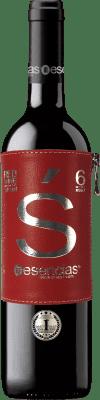 11,95 € 免费送货 | 红酒 Esencias «s» Premiun Edition 6 Meses Crianza I.G.P. Vino de la Tierra de Castilla y León 卡斯蒂利亚莱昂 西班牙 Tempranillo 瓶子 75 cl | 成千上万的葡萄酒爱好者信赖我们,保证最优惠的价格,免费送货,购买和退货,没有复杂性.