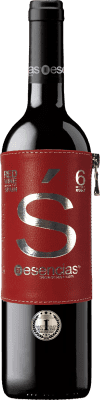 11,95 € Kostenloser Versand | Rotwein Esencias «s» Premium Edition 6 Meses Weinalterung I.G.P. Vino de la Tierra de Castilla y León Kastilien und León Spanien Tempranillo Flasche 75 cl