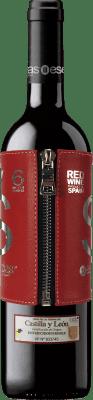 11,95 € Envío gratis | Vino tinto Esencias «s» Premium Edition 6 Meses Crianza I.G.P. Vino de la Tierra de Castilla y León Castilla y León España Tempranillo Botella 75 cl