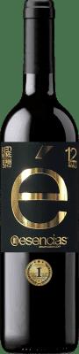 17,95 € Envío gratis | Vino tinto Esencias «é» 12 Meses Crianza 2012 I.G.P. Vino de la Tierra de Castilla y León Castilla y León España Tempranillo Botella 75 cl