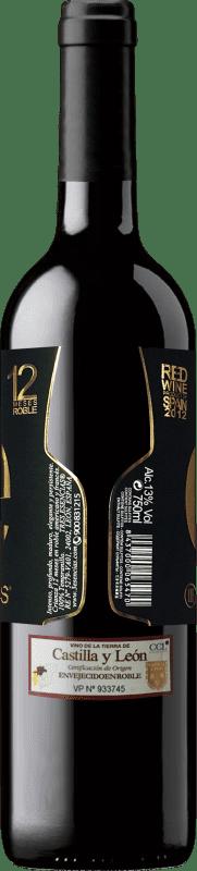 19,95 € Free Shipping   Red wine Esencias «é» 12 Meses Crianza 2012 I.G.P. Vino de la Tierra de Castilla y León Castilla y León Spain Tempranillo Bottle 75 cl