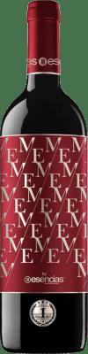 9,95 € Envío gratis | Vino tinto Esencias ME&Red Crianza I.G.P. Vino de la Tierra de Castilla y León Castilla y León España Tempranillo Botella 75 cl