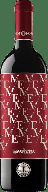 11,95 € Free Shipping | Red wine Esencias ME&Red Crianza I.G.P. Vino de la Tierra de Castilla y León Castilla y León Spain Tempranillo Bottle 75 cl