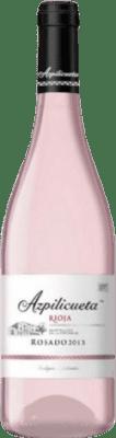 7,95 € Free Shipping | Rosé sparkling Campo Viejo Azpilicueta Rosado D.O.Ca. Rioja The Rioja Spain Tempranillo, Viura Bottle 75 cl