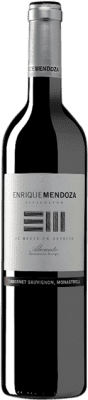 8,95 € Free Shipping | Red wine Enrique Mendoza Cabernet-Monastrell Crianza D.O. Alicante Valencian Community Spain Cabernet Sauvignon, Monastrell Bottle 75 cl