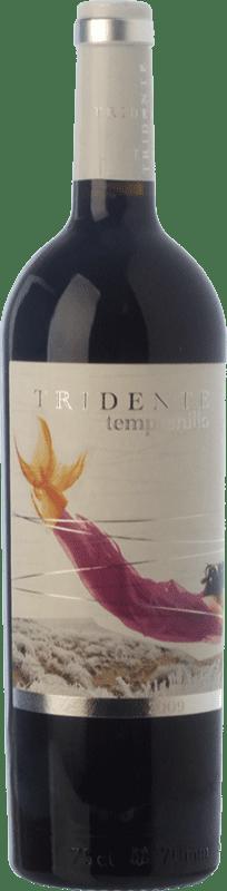 12,95 € Free Shipping | Red wine Tritón Tridente I.G.P. Vino de la Tierra de Castilla y León Castilla y León Spain Tempranillo Bottle 75 cl