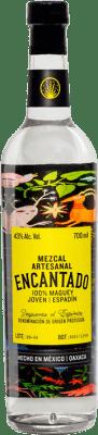 36,95 € Free Shipping | Mezcal Los Danzantes Artesanal Encantado Bottle 70 cl