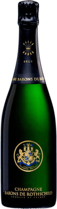 125,95 € Free Shipping   White sparkling Barons de Rothschild Brut A.O.C. Champagne Champagne France Pinot Black, Chardonnay, Pinot Meunier Magnum Bottle 1,5 L