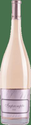 37,95 € Free Shipping | Rosé sparkling Hispano-Suizas Impromptu Rosé D.O. Valencia Valencian Community Spain Pinot Black Magnum Bottle 1,5 L
