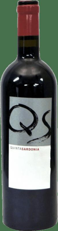 39,95 € Free Shipping | Red wine Quinta Sardonia I.G.P. Vino de la Tierra de Castilla Castilla la Mancha Spain Tempranillo, Merlot, Cabernet Sauvignon, Malbec Bottle 75 cl