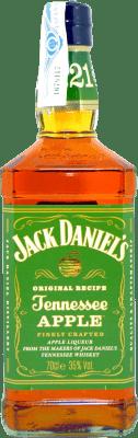 21,95 € Free Shipping | Bourbon Jack Daniel's Apple Bottle 75 cl