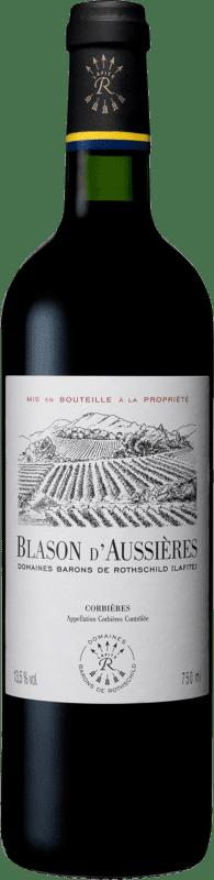 12,95 € Free Shipping   Red wine Barons de Rothschild Blason d'Aussières Languedoc-Roussillon France Syrah, Grenache, Carignan Bottle 75 cl