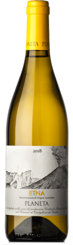 16,95 € Free Shipping   White wine Planeta Bianco D.O.C. Etna Italy Carricante Bottle 75 cl