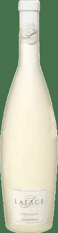 11,95 € Envío gratis | Vino generoso Domaine Lafage A.O.C. Muscat de Rivesaltes Francia Moscatel Botella 75 cl