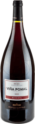 32,95 € Free Shipping | Red wine Bodegas Bilbaínas Viña Pomal Reserva 2011 D.O.Ca. Rioja The Rioja Spain Tempranillo Magnum Bottle 1,5 L