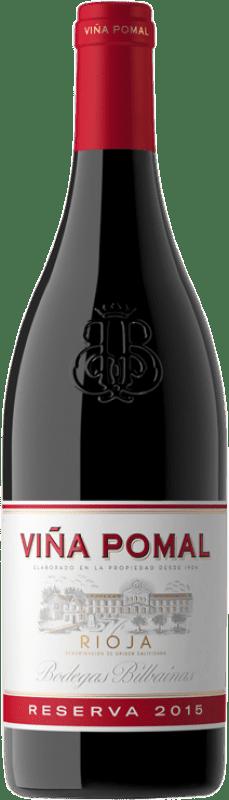 29,95 € Envoi gratuit | Vin rouge Bodegas Bilbaínas Viña Pomal Reserva D.O.Ca. Rioja La Rioja Espagne Tempranillo Bouteille Magnum 1,5 L
