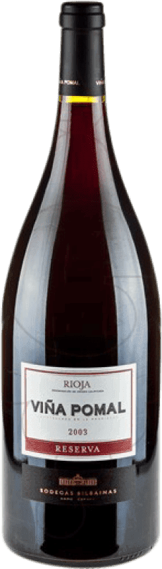 29,95 € Envío gratis   Vino tinto Bodegas Bilbaínas Viña Pomal Reserva D.O.Ca. Rioja La Rioja España Tempranillo Botella Mágnum 1,5 L