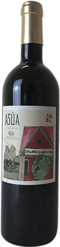 8,95 € Free Shipping | Red wine Norte de España - CVNE Asua Crianza D.O.Ca. Rioja The Rioja Spain Tempranillo, Grenache, Graciano, Mazuelo, Carignan Bottle 75 cl