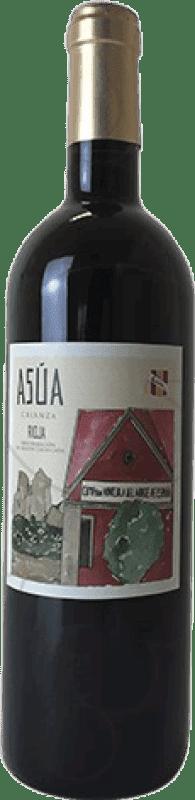 8,95 € Envoi gratuit   Vin rouge Norte de España - CVNE Asua Crianza D.O.Ca. Rioja La Rioja Espagne Tempranillo, Grenache, Graciano, Mazuelo, Carignan Bouteille 75 cl