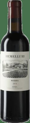 9,95 € Envío gratis | Vino tinto Ntra. Sra de Remelluri Reserva D.O.Ca. Rioja La Rioja España Tempranillo, Garnacha, Graciano Media Botella 37 cl