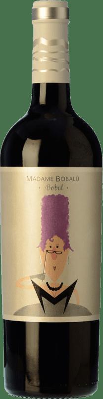 4,95 € Envío gratis | Vino tinto Volver Madame Bobalu Joven D.O. Valencia Levante España Bobal Botella 75 cl