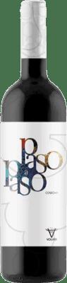 3,95 € Kostenloser Versand | Rotwein Volver Paso a Paso Joven D.O. La Mancha Castilla la Mancha y Madrid Spanien Tempranillo Flasche 75 cl