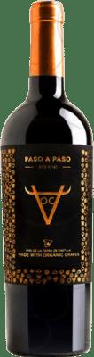 6,95 € Envío gratis | Vino tinto Volver Paso a Paso Orgánico D.O. La Mancha Castilla la Mancha y Madrid España Tempranillo Botella 75 cl