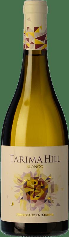 9,95 € Envío gratis | Vino blanco Volver Tarima Hill Fermentado en Barrica Crianza D.O. Alicante Levante España Chardonnay, Merseguera Botella 75 cl