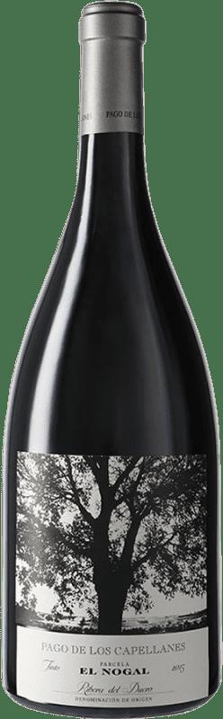 82,95 € Kostenloser Versand | Rotwein Pago de los Capellanes El Nogal D.O. Ribera del Duero Kastilien und León Spanien Tempranillo Magnum-Flasche 1,5 L