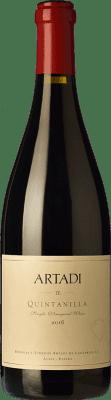 61,95 € Envoi gratuit | Vin rouge Artadi Quintanilla D.O.Ca. Rioja La Rioja Espagne Tempranillo Bouteille 75 cl