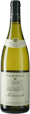 51,95 € Free Shipping | White wine Torres Milmanda Crianza D.O. Conca de Barberà Catalonia Spain Chardonnay Bottle 75 cl