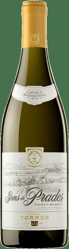 25,95 € Free Shipping | White wine Torres Sons de Prades Crianza D.O. Conca de Barberà Catalonia Spain Chardonnay Bottle 75 cl