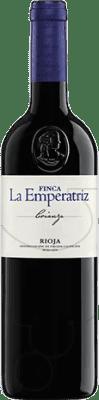 58,95 € Envío gratis | Vino tinto Hernáiz Finca La Emperatriz Crianza D.O.Ca. Rioja La Rioja España Tempranillo, Garnacha, Macabeo Botella Jéroboam-Doble Mágnum 3 L