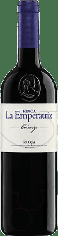58,95 € Envoi gratuit | Vin rouge Hernáiz Finca La Emperatriz Crianza D.O.Ca. Rioja La Rioja Espagne Tempranillo, Grenache, Macabeo Bouteille Jéroboam-Doble Magnum 3 L