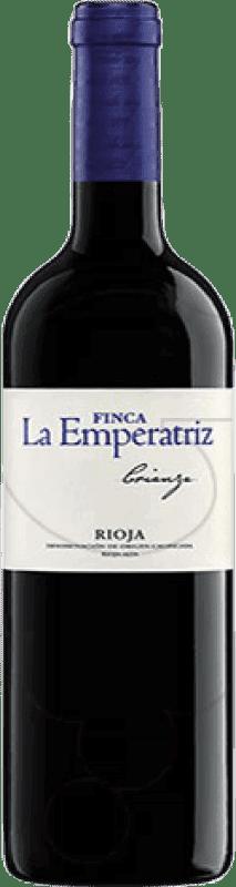 19,95 € Envoi gratuit | Vin rouge Hernáiz Finca La Emperatriz Crianza D.O.Ca. Rioja La Rioja Espagne Tempranillo, Grenache, Macabeo Bouteille Magnum 1,5 L