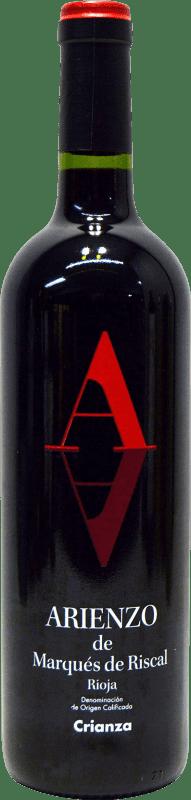 7,95 € Envoi gratuit   Vin rouge Marqués de Riscal Arienzo de Riscal Crianza D.O.Ca. Rioja La Rioja Espagne Tempranillo, Graciano, Mazuelo, Carignan Bouteille 75 cl