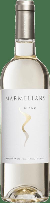 4,95 € Envío gratis | Vino blanco Capçanes Marmellans Joven D.O. Catalunya Cataluña España Garnacha Blanca, Macabeo Botella 75 cl